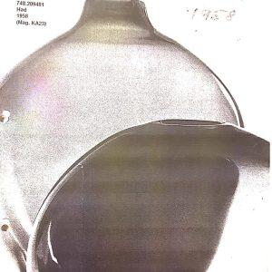 K-glasskatalog HG 1958